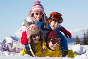 family sunglasses winter